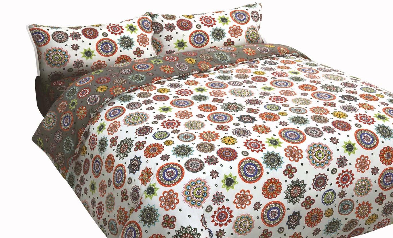 precio bajo venta más barata estilo popular Catherine Lansfield City Scape - Funda nórdica y 2 fundas de almohada (230  x 220 cm y 50 x 75 cm), diseño de ciudad