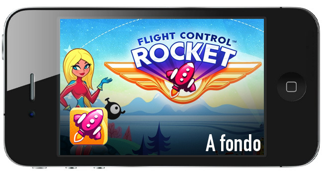 a fondo flight control rocket