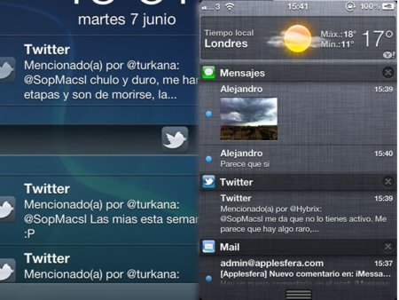 notificaciones ios 5