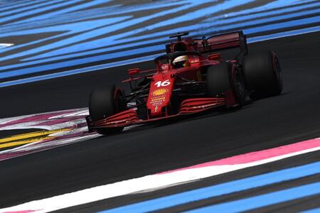 Leclerc Francia F1 2021