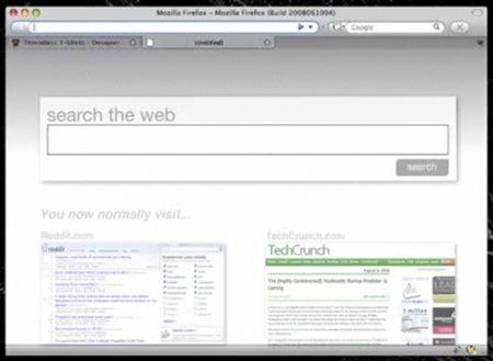 Firefox -  Sugerencia de sitio a visitar