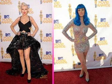 Las celebrities no se pierden la alfombra roja de los MTV Movie Awards