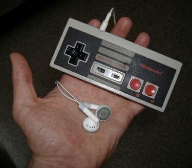 NES Shuffle, un iPod en un mando de NES