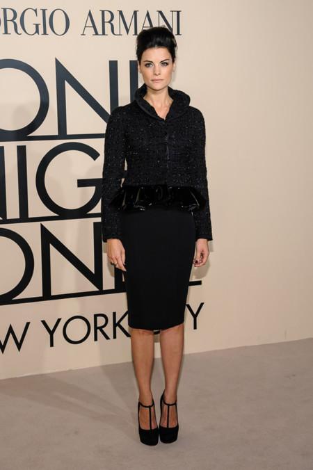 Jaimie Alexander en la fiesta One Night Only de Giorgio Armani en Nueva York, Octubre 2013