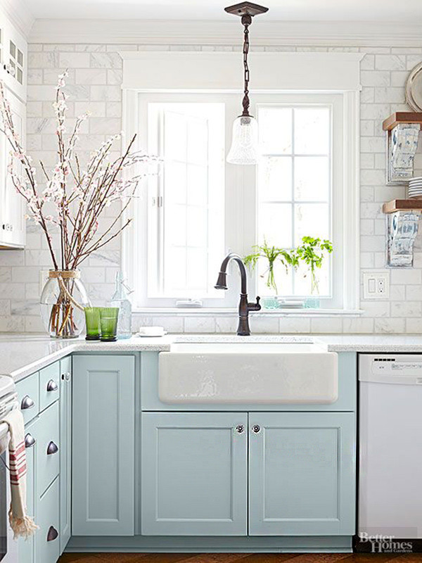 Muebles Azules Cocina 8
