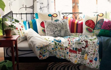 Textiles del catálogo Ikea 2012.