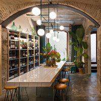 Agüita, un antiguo almacén reconvertido en un espacio dedicado al vino