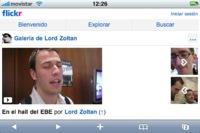 Flickr actualiza su versión móvil: ya podemos ver vídeos desde el iPhone