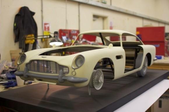 Skyfall coche en 3D