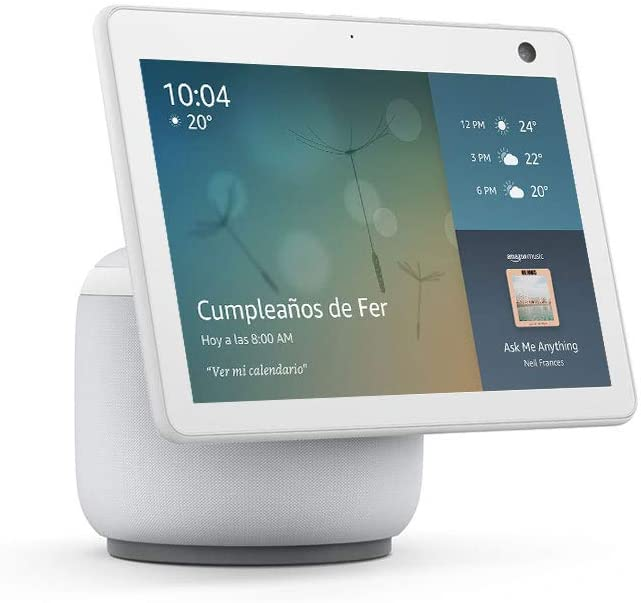 Nuevo Amazon Echo Show 10 - Color blanco