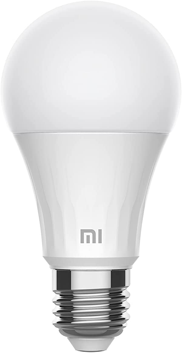 3 bombillas Xiaomi Mi Smart LED Bulb White, 8W, 810 lm, Blanco Cálido