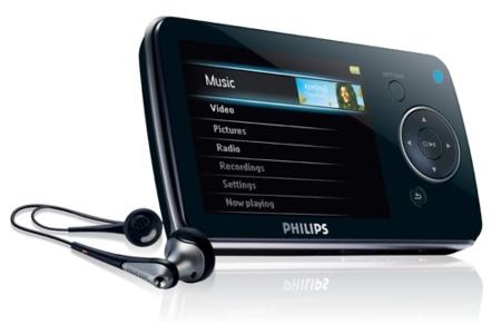 Nuevos reproductores portátiles de vídeo de Philips [CES 2008]