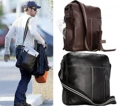 Bolsos para padres: el bolso de Brad Pitt