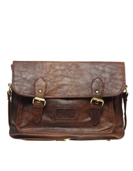 bolso satchel hombre