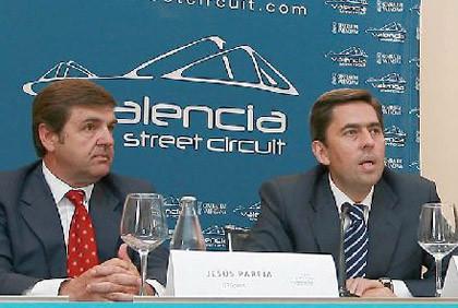 Test previo a la F1 en el circuito urbano de Valencia