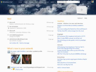 Microsoft desvela accidentalmente la nueva página de inicio de Windows Live