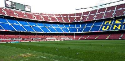 Ahora es posible casarse en el Camp Nou