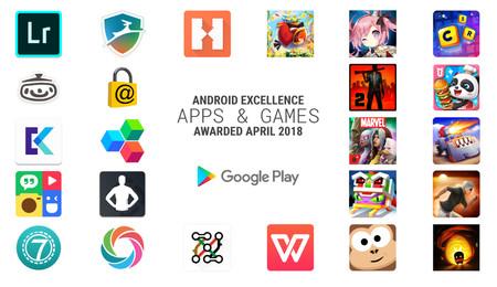 Las 24 aplicaciones y juegos galardonadas en abril con los premios Android Excellence de Google