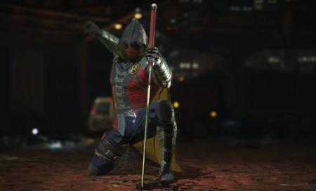 Damian Wayne volverá a llevar el manto de Robin en Injustice 2 y ya lo puedes ver en movimiento