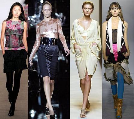 Enséñalo todo: la ropa interior se convierte en exterior