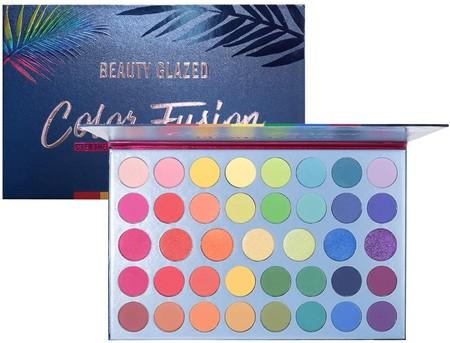 Paletas Sombras Ojos Coloridas Amazon 1