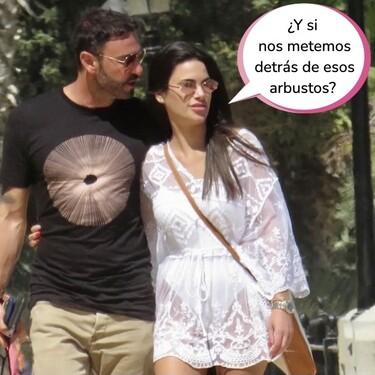 ¡Carla Barber se da el lote con un maromo en plena calle! Las fotos que demuestran que Diego Matamoros ya es pasado