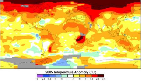 Un grado de calentamiento podría tener serias consecuencias