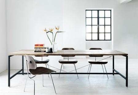 Vipp, una elegante mesa de estilo industrial