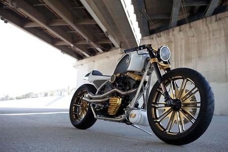 La Custom de Mikey Rourke firmada por Roland Sands Design