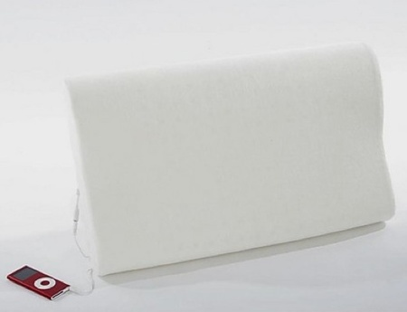 almohada altavoz