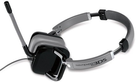 El headset oficial de Nintendo 3DS