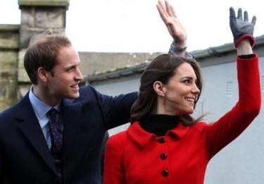 El Príncipe Guillermo y Catalina van a por la parejita, ¡qué monos!