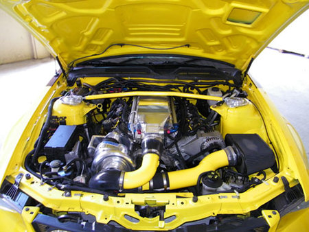 Ford Mustang GT SuperCar, 1.015 CV de potencia GM