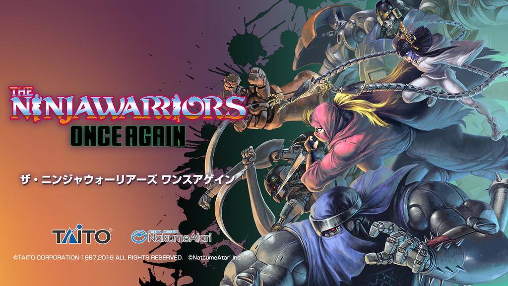 The Ninja Warriors: Once Again, la remasterización del clásico juego de SNES, confirma su lanzamiento en occidente para PS4 y Switch