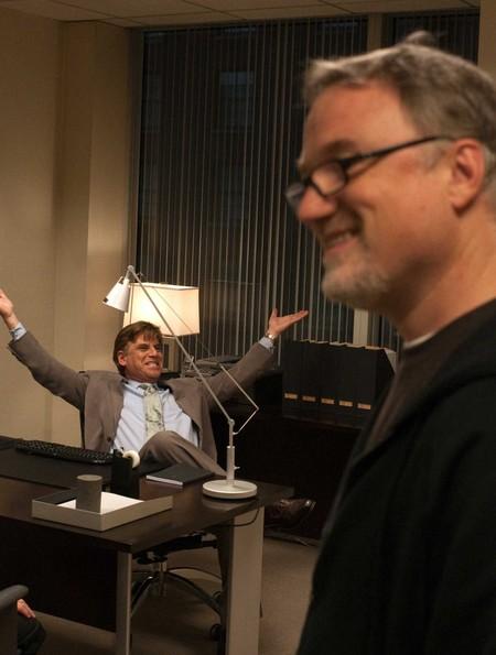 Aaron Sorkin y David Fincher