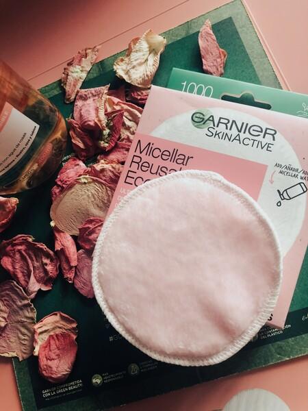 Garnier continúa apostando por la belleza sostenible y lanza sus primeros discos desmaquillantes reutilizables para sustituir los algodones