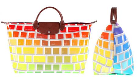 La bolsa teclado de Jeremy Scott para Longchamp