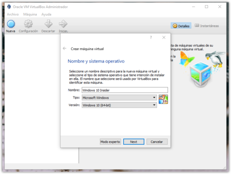 Windows 10 Oracle Vm Virtualbox