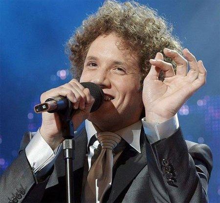 Daniel Diges se queda con las ganas en Eurovisión, pero tuvo su espontáneo