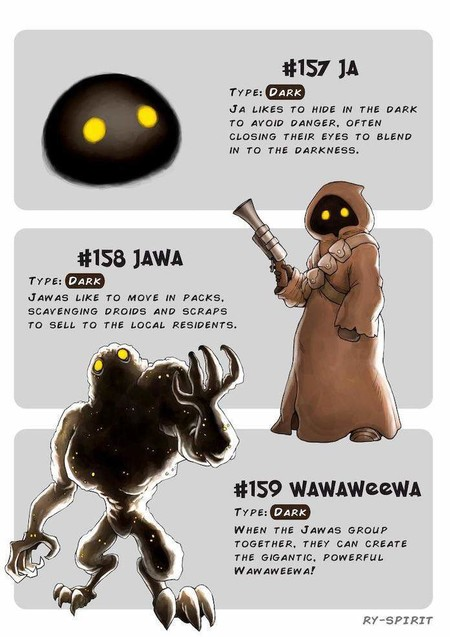 Pokemon Star Wars Jawa