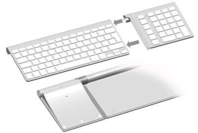 Añade un teclado numérico al teclado inalámbrico