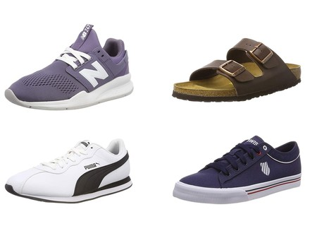 Chollos en tallas sueltas de zapatillas New Balance, Puma o Birkenstock en Amazon