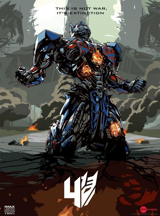 Foto de 'Transformers: La era de la extinción', carteles (16/17)