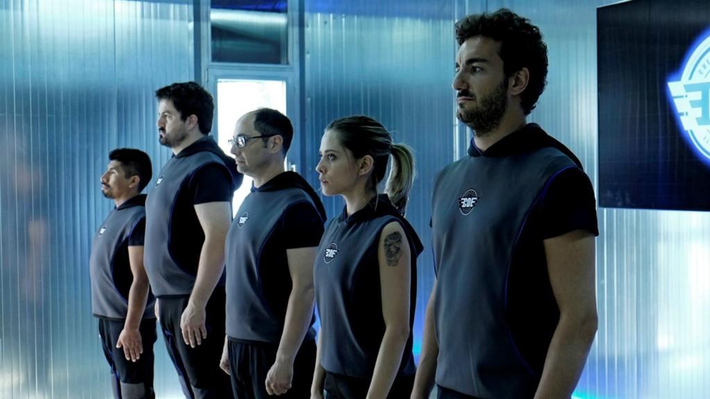 Protagonistas Cuerpo De Elite