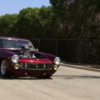 Un Ferrari 250 GTE Hot Rod... ¡con motor V8!