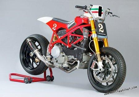 Ducati F1 Tracker, corazón italiano para la competición americana