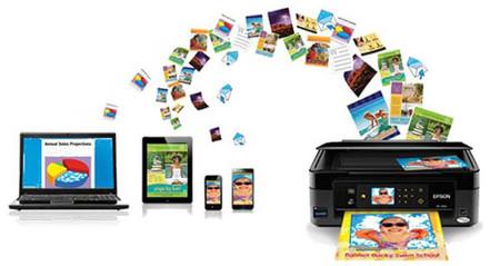 Imprime desde donde quieras con tu WorkForce Pro, iPrint te ayudará a ello