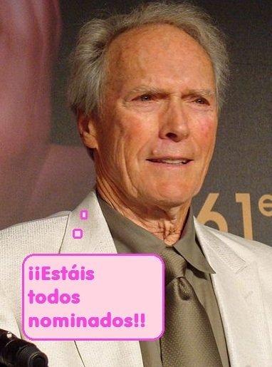 Esto sí que no me lo esperaba, Clint Eastwood en un reality. ¡Apaga y vámonos!