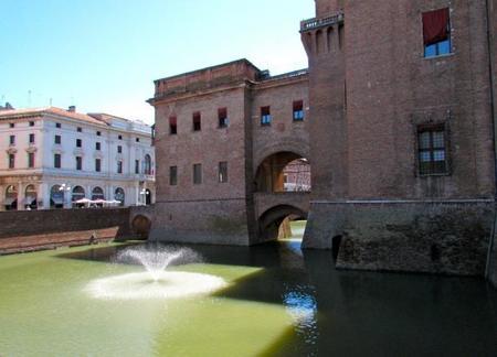 El Castillo de los Este en Ferrara