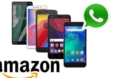 5 smartphones baratos en Amazon para los que sólo quieren el móvil para hacer llamadas y usar WhatsApp